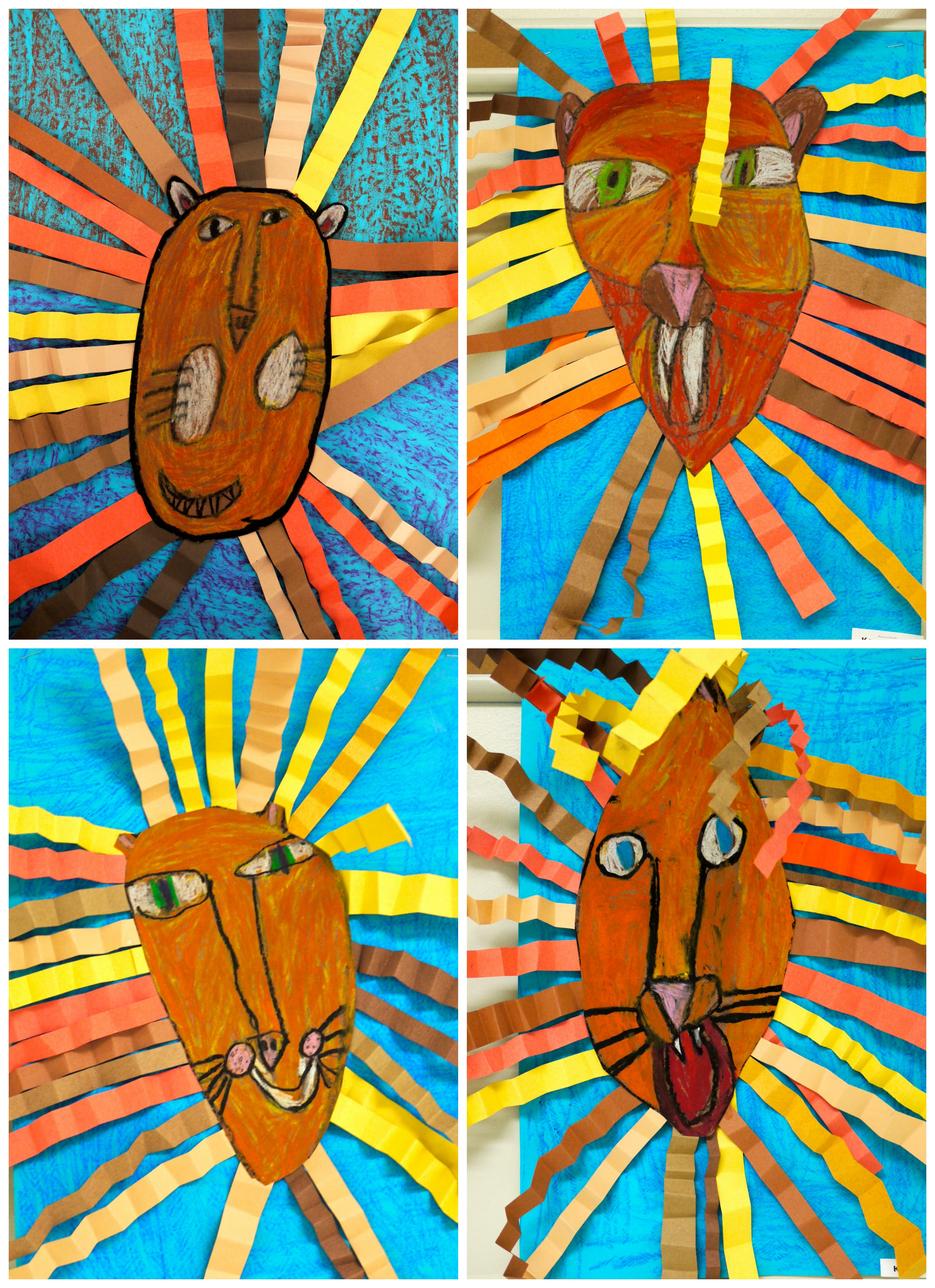 1st Grade Oil Pastel Lion Collages  The Colors Of My Day. Valentine Ideas For Your Boyfriend. Home Date Ideas. Easter Hat Ideas For Teachers. Apartment Headboard Ideas. Potluck Dinner Ideas New Zealand. Backyard With Trees Landscaping Ideas. Makeup Ideas Storage. Design Ideas Usa
